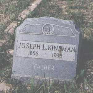 KINSMAN, JOSEPH L. - Fremont County, Colorado | JOSEPH L. KINSMAN - Colorado Gravestone Photos