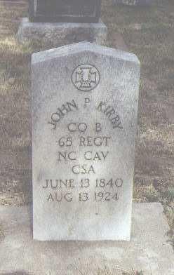 KIRBY, JOHN P. - Fremont County, Colorado | JOHN P. KIRBY - Colorado Gravestone Photos