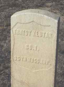 KLUTAR, ERNEST - Fremont County, Colorado | ERNEST KLUTAR - Colorado Gravestone Photos