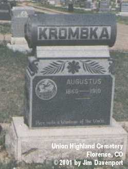 KROMBKA, PLOT - Fremont County, Colorado   PLOT KROMBKA - Colorado Gravestone Photos