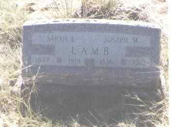LAMB, JOSEPH M. - Fremont County, Colorado | JOSEPH M. LAMB - Colorado Gravestone Photos