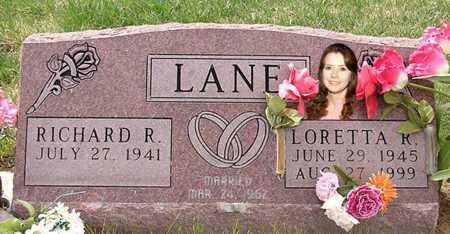 LAIR LANE, LORETTA RUTH - Fremont County, Colorado   LORETTA RUTH LAIR LANE - Colorado Gravestone Photos