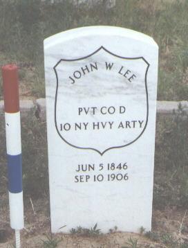 LEE, JOHN W. - Fremont County, Colorado | JOHN W. LEE - Colorado Gravestone Photos