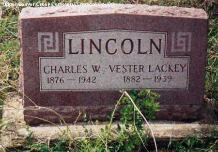 LACKEY LINCOLN, VESTER - Fremont County, Colorado | VESTER LACKEY LINCOLN - Colorado Gravestone Photos