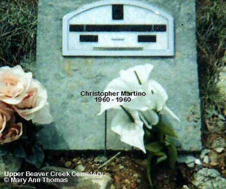 MARTINO, CHRISTOPHER - Fremont County, Colorado | CHRISTOPHER MARTINO - Colorado Gravestone Photos