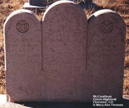 MCCANDLESS, AUDREY E. - Fremont County, Colorado | AUDREY E. MCCANDLESS - Colorado Gravestone Photos