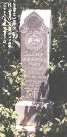 MCCORMICK, ELLEN E. - Fremont County, Colorado | ELLEN E. MCCORMICK - Colorado Gravestone Photos