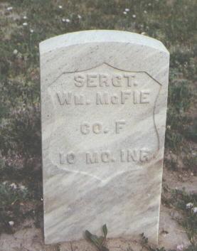 MCFIE, WM. - Fremont County, Colorado   WM. MCFIE - Colorado Gravestone Photos