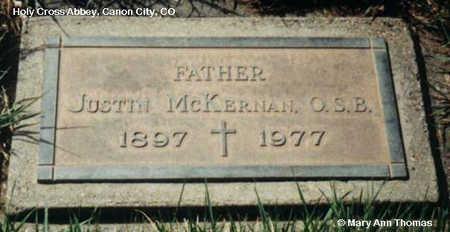 MCKERNAN, JUSTIN - Fremont County, Colorado | JUSTIN MCKERNAN - Colorado Gravestone Photos