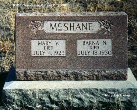 MC SHANE, MARY V. - Fremont County, Colorado | MARY V. MC SHANE - Colorado Gravestone Photos