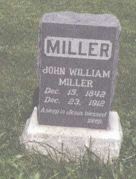 MILLER, JOHN WILLIAM - Fremont County, Colorado | JOHN WILLIAM MILLER - Colorado Gravestone Photos