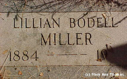 MILLER, LILLIAN - Fremont County, Colorado | LILLIAN MILLER - Colorado Gravestone Photos