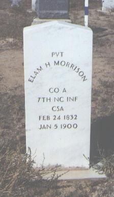 MORRISON, ELAM H. - Fremont County, Colorado | ELAM H. MORRISON - Colorado Gravestone Photos