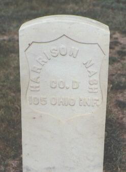 NASH, HARRISON - Fremont County, Colorado | HARRISON NASH - Colorado Gravestone Photos