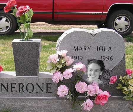 BERGER NERONE, MARY IOLA - Fremont County, Colorado | MARY IOLA BERGER NERONE - Colorado Gravestone Photos