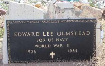 OLMSTEAD, EDWARD LEE - Fremont County, Colorado | EDWARD LEE OLMSTEAD - Colorado Gravestone Photos