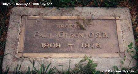 OLSON, PAUL - Fremont County, Colorado   PAUL OLSON - Colorado Gravestone Photos