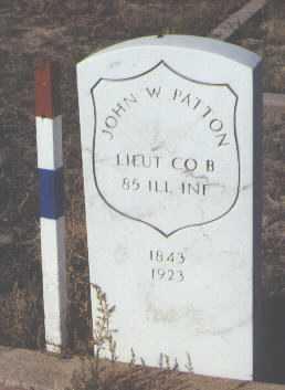PATTON, JOHN W. - Fremont County, Colorado   JOHN W. PATTON - Colorado Gravestone Photos