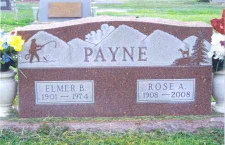 BEAN PAYNE, ROSE - Fremont County, Colorado | ROSE BEAN PAYNE - Colorado Gravestone Photos