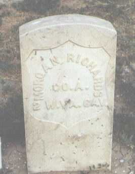 RICHARDS, MORGAN - Fremont County, Colorado | MORGAN RICHARDS - Colorado Gravestone Photos