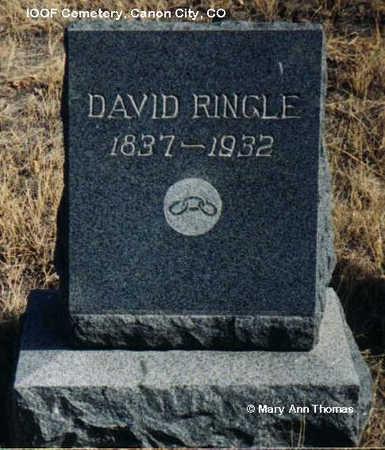 RINGLE, DAVID - Fremont County, Colorado | DAVID RINGLE - Colorado Gravestone Photos