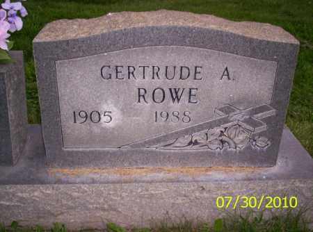 ROWE, GERTRUDE A - Fremont County, Colorado | GERTRUDE A ROWE - Colorado Gravestone Photos