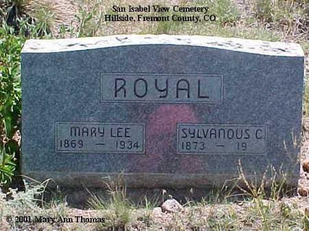 ROYAL, MARY LEE - Fremont County, Colorado   MARY LEE ROYAL - Colorado Gravestone Photos