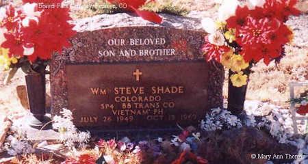 SHADE, WM STEVE - Fremont County, Colorado | WM STEVE SHADE - Colorado Gravestone Photos