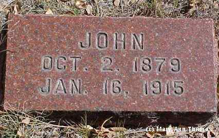 SHAEFFER, JOHN - Fremont County, Colorado | JOHN SHAEFFER - Colorado Gravestone Photos