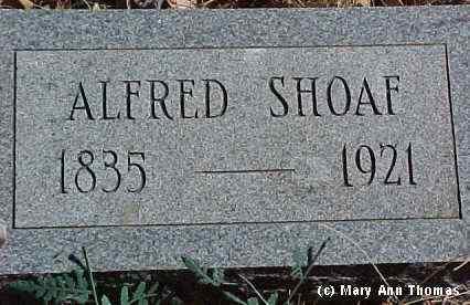 SHAOF, ALFRED - Fremont County, Colorado | ALFRED SHAOF - Colorado Gravestone Photos