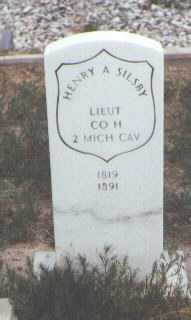 A SILSBY, HENRY - Fremont County, Colorado | HENRY A SILSBY - Colorado Gravestone Photos