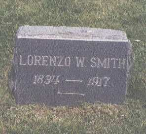 SMITH, LORENZO W. - Fremont County, Colorado | LORENZO W. SMITH - Colorado Gravestone Photos