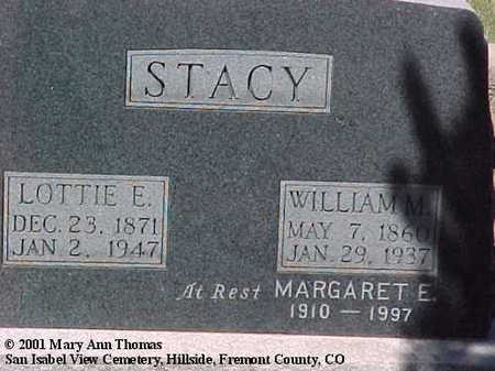 STACY, WILLIAM M. - Fremont County, Colorado | WILLIAM M. STACY - Colorado Gravestone Photos