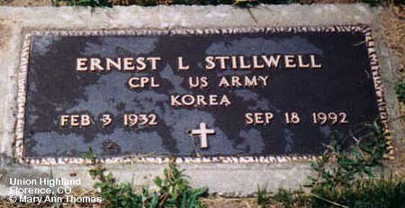 STILLWELL, ERNEST L. - Fremont County, Colorado | ERNEST L. STILLWELL - Colorado Gravestone Photos