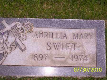 SWIFT, AURILLIA MARY - Fremont County, Colorado | AURILLIA MARY SWIFT - Colorado Gravestone Photos