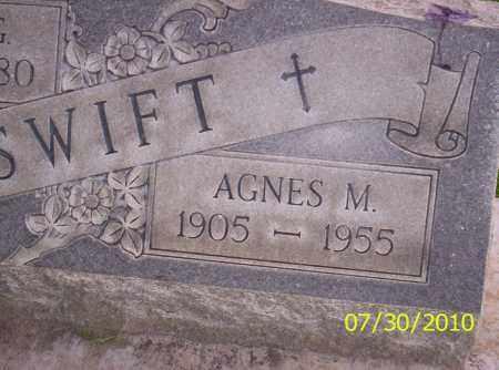 SWIFT, AGNES M - Fremont County, Colorado | AGNES M SWIFT - Colorado Gravestone Photos