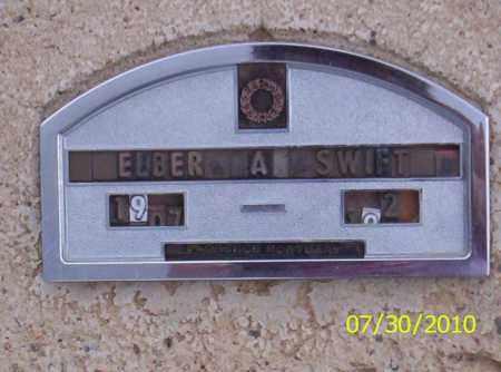 SWIFT, ELBER A - Fremont County, Colorado | ELBER A SWIFT - Colorado Gravestone Photos
