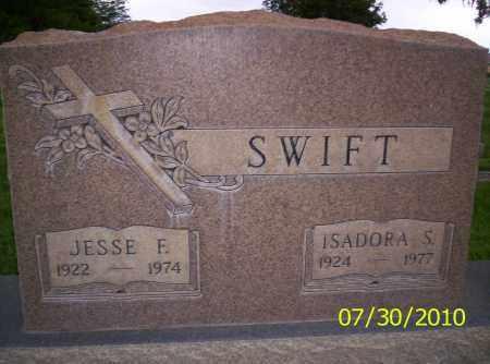 SWIFT, JESSE F - Fremont County, Colorado | JESSE F SWIFT - Colorado Gravestone Photos