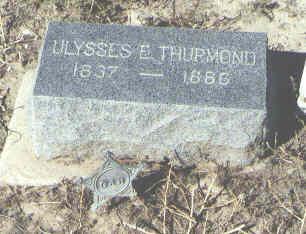 THURMOND, ULYSSES E. - Fremont County, Colorado | ULYSSES E. THURMOND - Colorado Gravestone Photos