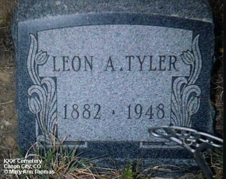 TYLER, LEON A. - Fremont County, Colorado   LEON A. TYLER - Colorado Gravestone Photos