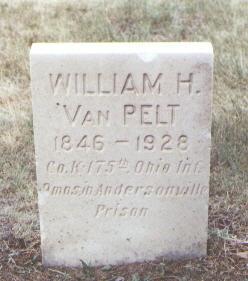 VAN PELT, WILLIAM H. - Fremont County, Colorado   WILLIAM H. VAN PELT - Colorado Gravestone Photos