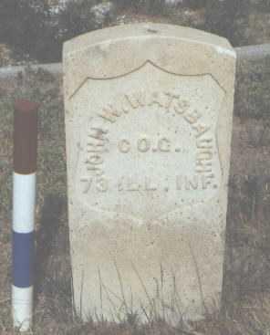 WATSBAUGH, JOHN W. - Fremont County, Colorado   JOHN W. WATSBAUGH - Colorado Gravestone Photos
