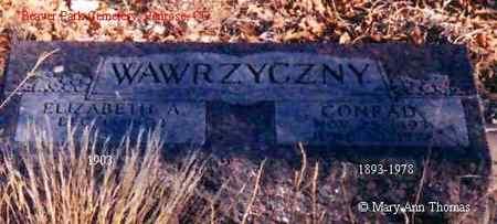 WAWRZYCZNY, ELIZABETH A. - Fremont County, Colorado   ELIZABETH A. WAWRZYCZNY - Colorado Gravestone Photos