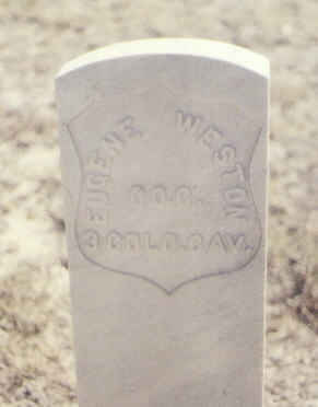 WESTON, EUGENE - Fremont County, Colorado | EUGENE WESTON - Colorado Gravestone Photos
