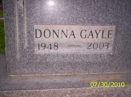 WILCOX, DONNA GAYLE - Fremont County, Colorado   DONNA GAYLE WILCOX - Colorado Gravestone Photos