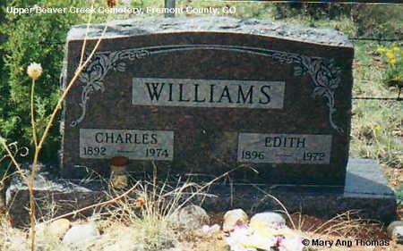 WILLIAMS, EDITH - Fremont County, Colorado | EDITH WILLIAMS - Colorado Gravestone Photos