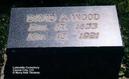 WOOD, DAVID A. - Fremont County, Colorado | DAVID A. WOOD - Colorado Gravestone Photos