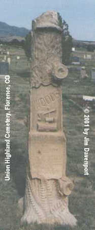 WOODS, JAMES M. - Fremont County, Colorado | JAMES M. WOODS - Colorado Gravestone Photos
