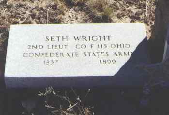 WRIGHT, SETH - Fremont County, Colorado | SETH WRIGHT - Colorado Gravestone Photos