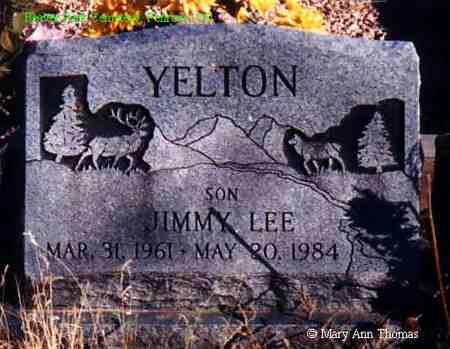 YELTON, JIMMY LEE - Fremont County, Colorado   JIMMY LEE YELTON - Colorado Gravestone Photos